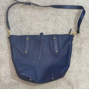 RARE Annabel Ingall Blue Shoulder/Crossbody Bag